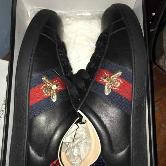 Black Gucci Ace Sneakers | Poshmark